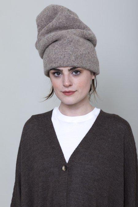 Lauren Manoogian Carpenter Hat - Driftwood/Plaster/Blackened