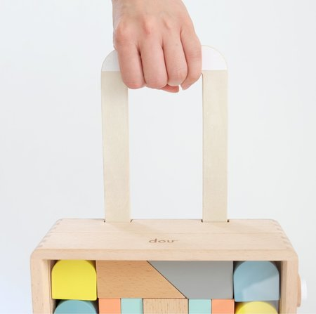kids Dou Toys Carry Me Building Blocks