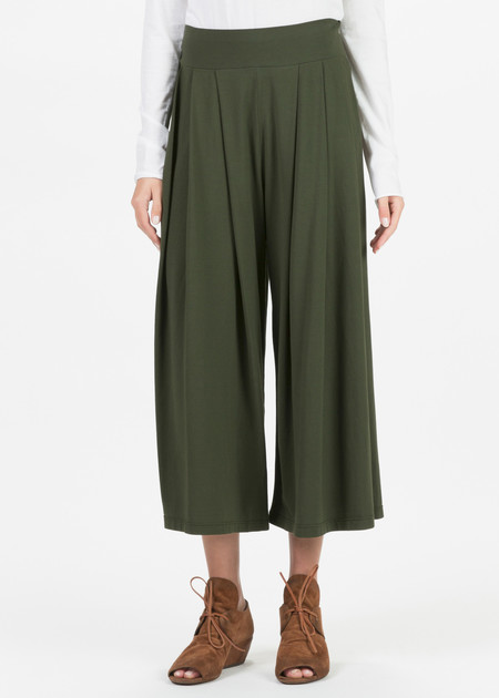 Labo.Art Bubi Pleated Wide Leg Pant