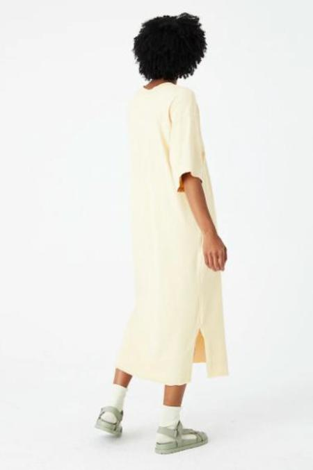 Back Beat Co. Organic Cotton Patch Dress - Cereal