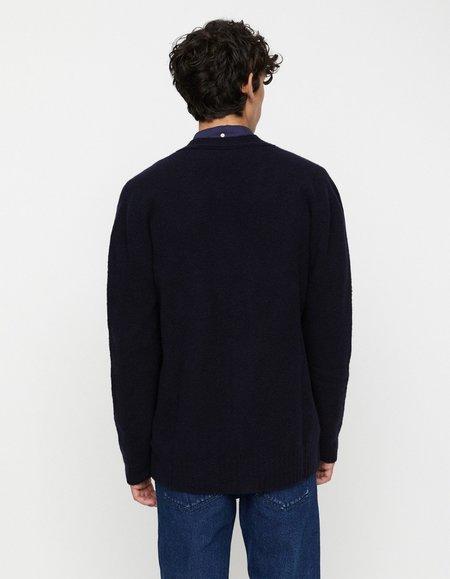 Schnayderman's Wool Cashmere Cardigan - Navy