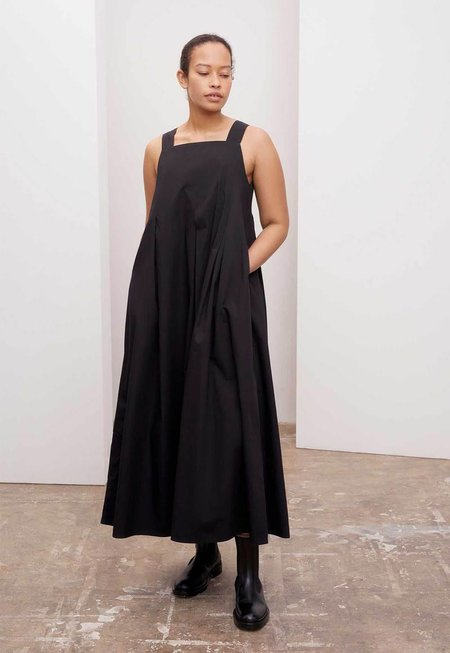 Charcoal Marle Study Dress - Black