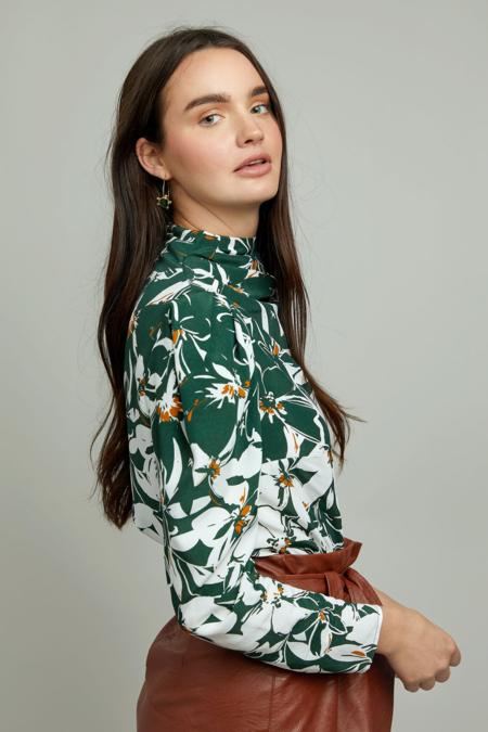 Christy Lynn Jeanne Top - Fleur Vert
