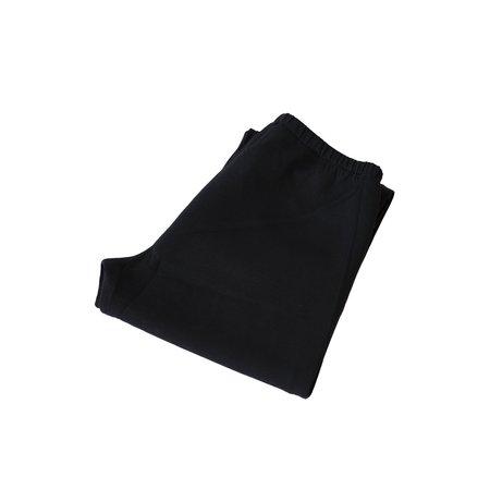 Needles Zipped  Pe/R/Pu Smooth Jersey Sweat Pant - Black