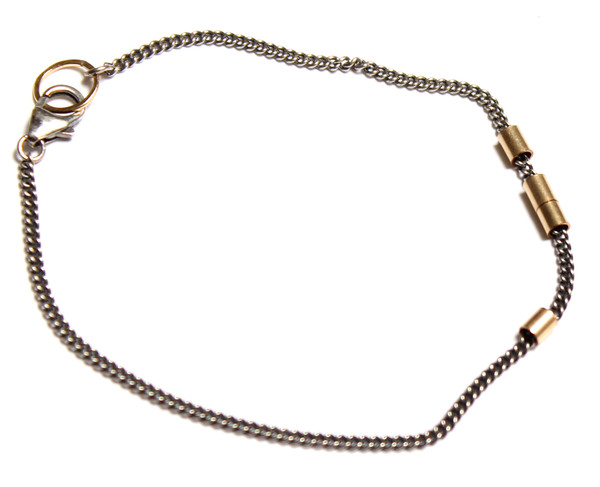 Nancy Caten Bracelet with Gold Links