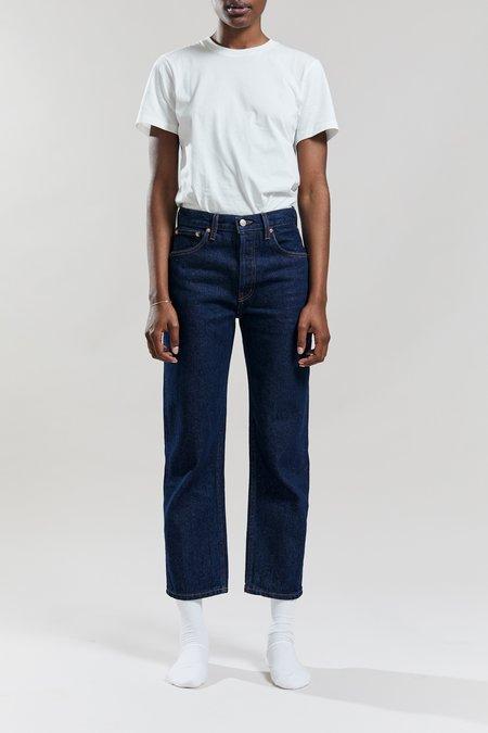Still Here New York Tate Crop Original Jeans - Indigo Indigo