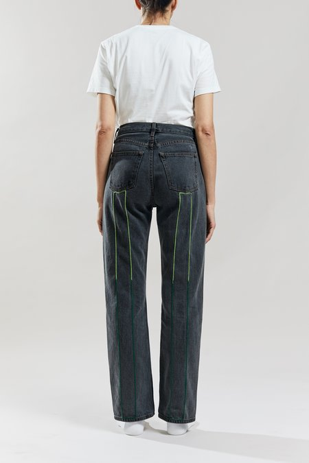 Still Here New York Open Green Childhood Jean - Two Tone