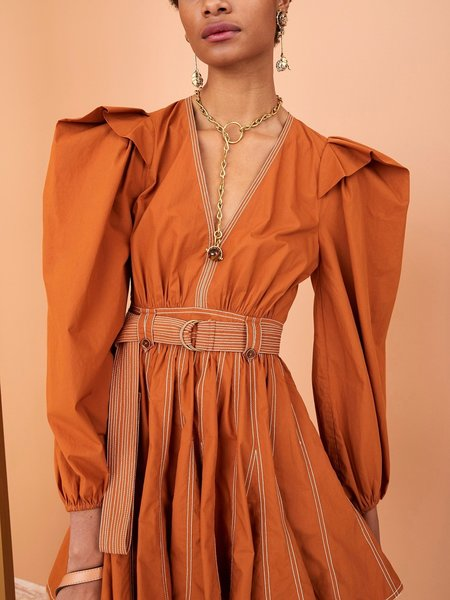 Ulla Johnson Corliss Dress - Sumac