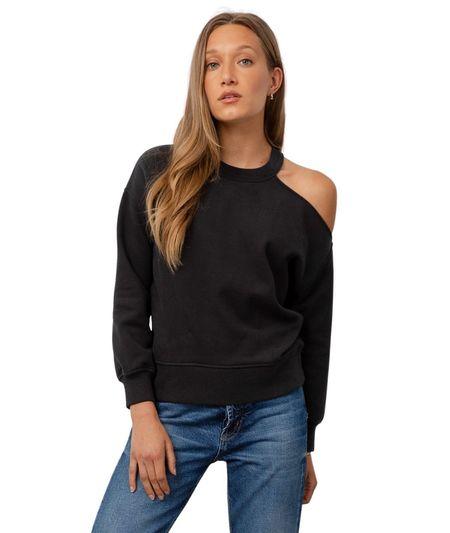 Rails Quincy sweater - Black