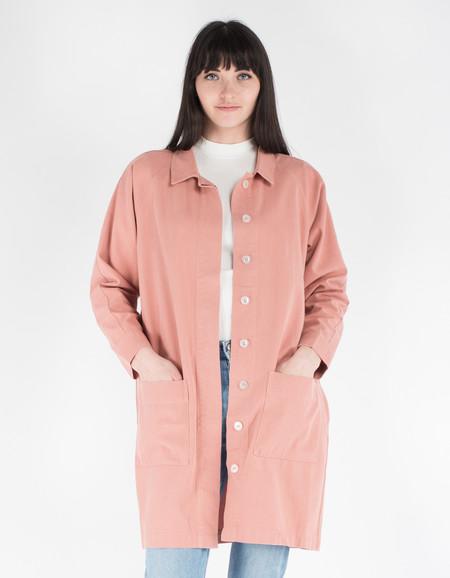 Sideline Cam Duster Jacket Pink