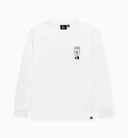 BY PARRA Rest Day Long Sleeve T-Shirt - White
