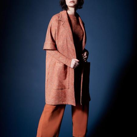 Melow Design Doris Jacket - Terra Cotta Tweed