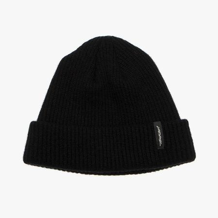 Livestock Cashmere Watch Cap - Black