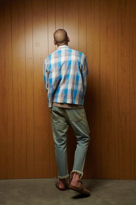 John Elliott Hemi Oversized Shirt - POINT SUR CHECK