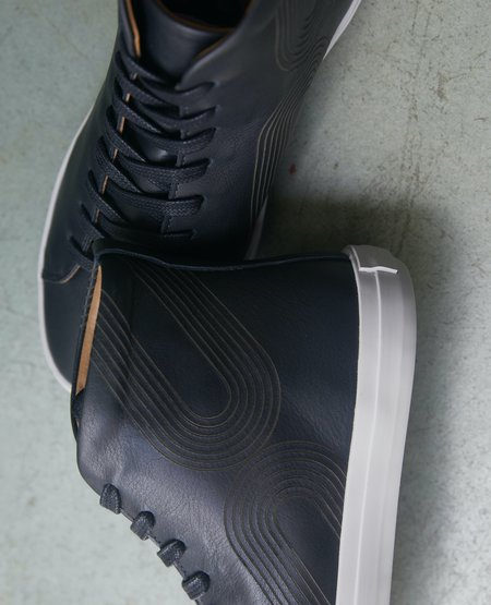 Coclico Oopsy High-Top Sneaker - Deep Sea