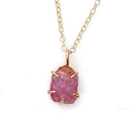 Alana Douvros Jewelry Spinel Necklace - Gold