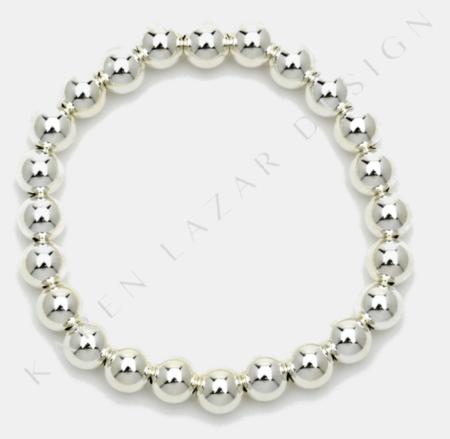 Karen Lazar 7mm Bracelet - Sterling Silver