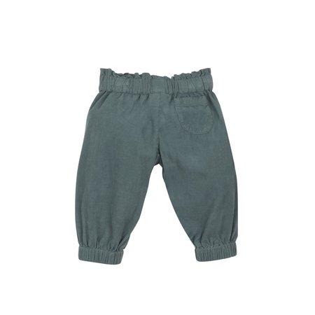 Kids Bonton Velvet Pants - Grey