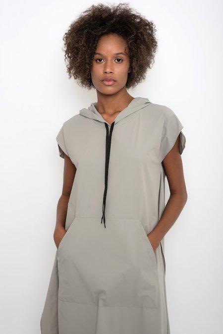 UMA Raquel Davidowicz Wide Nylon Windbreaker Dress - Mineral