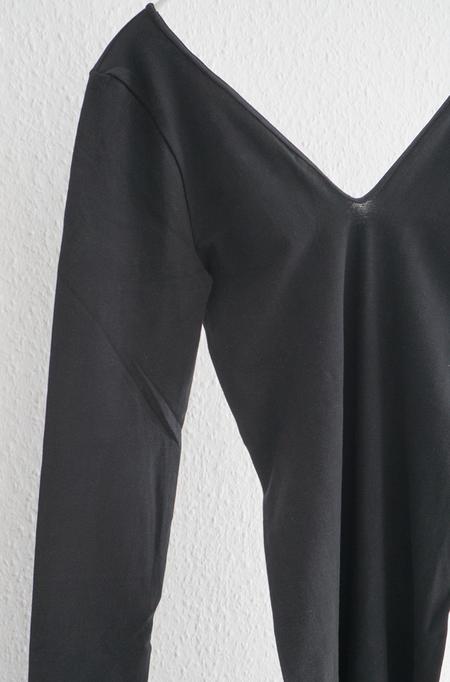 Baserange Oleta Longsleeve Jumpsuit - black