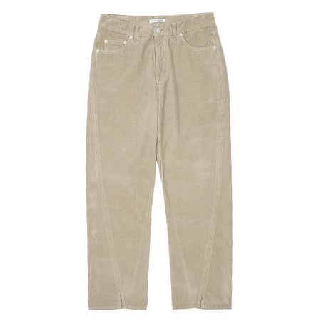 Our Legacy SABOT CUT pants - CLAY GREY CORDUROY