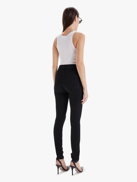 Mother Denim The Pixie Swooner Skimp pants - black