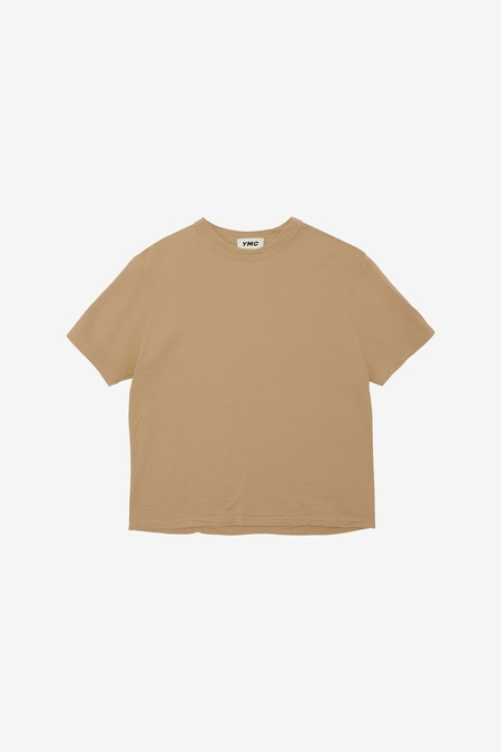 YMC Triple S/S T Shirt - Camel