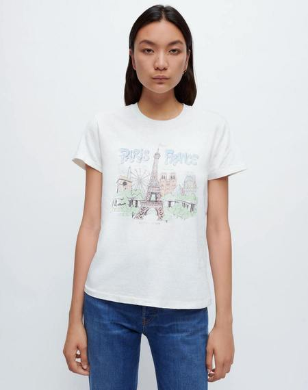 RE/DONE 70s Loose Paris France Tee