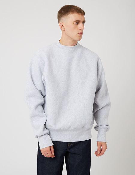 Camber 12oz Crew Neck Sweatshirt - Grey