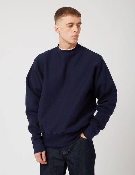 Camber 12oz Crew Neck Sweatshirt - Blue