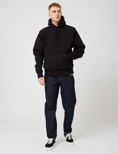 Camber 12oz Hooded Sweatshirt - Black