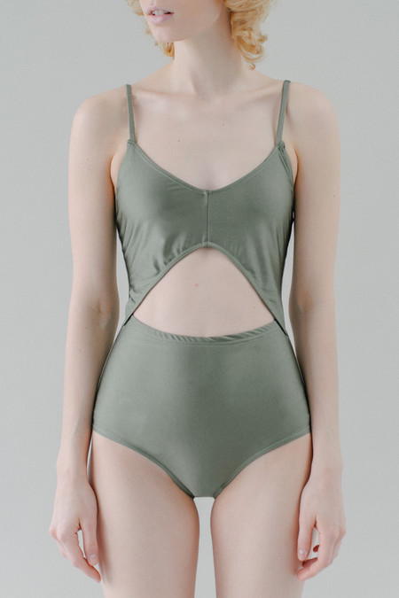REIFhaus Gamma One Piece Swimsuit in Olive