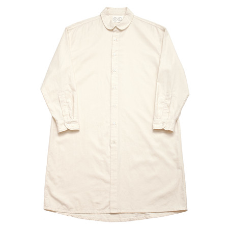 Unisex Olderbrother Long Shirt - Natural