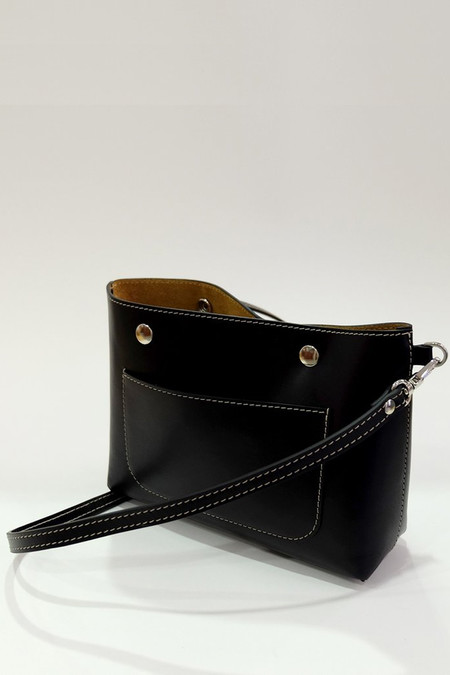Steve Mono Calfskin Lily Cross-body Bag