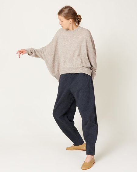 Kowtow Everyday Track Pant - Charcoal Marle