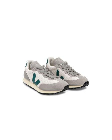 VEJA Rio Branco Hexamesh Shoes - Gravel Britanny