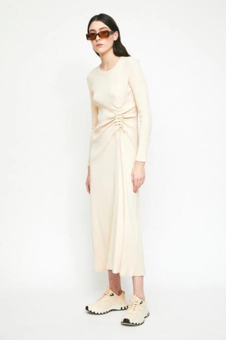 Rita Row Gardenia Dress - Beige