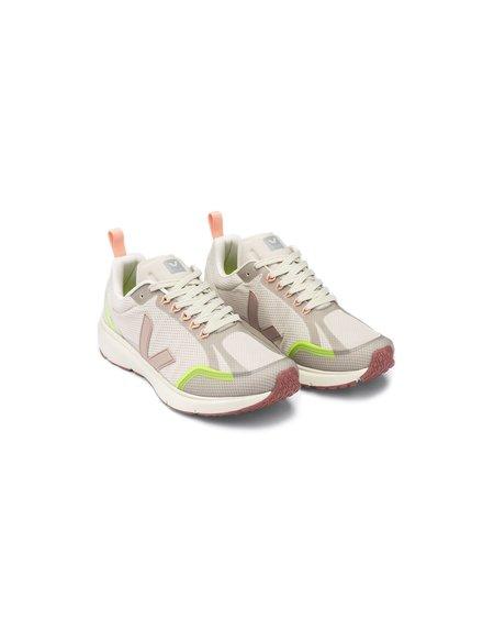 VEJA Condor 2 Alveomesh Shoes - Natural Parme/Jaune Fluo