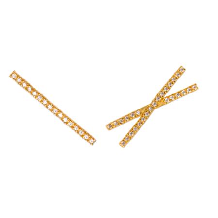 Montserrat New York The Eixample Earrings - Gold