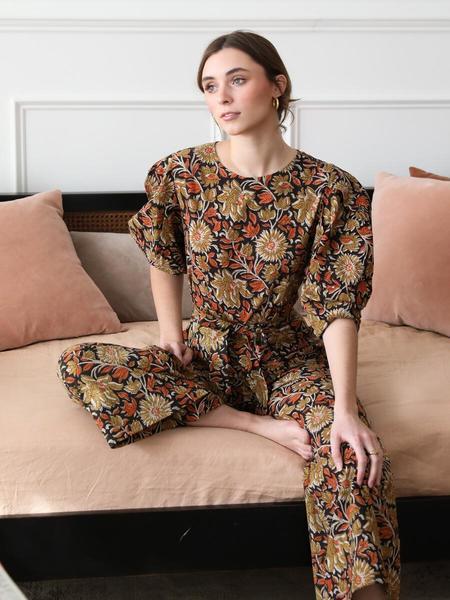 Mille Eva Jumpsuit - Sunset Bloom