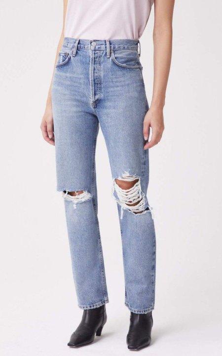 AGOLDE 90s Pinch Waist Hi Rise Jean - Backdrop