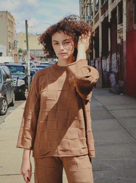 Marvin Ruby Georgie Sweater - Bark