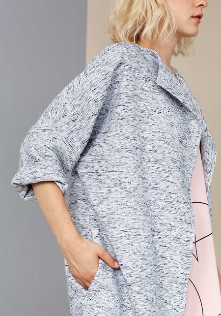 Marigold 'Simone' coat - grey mix