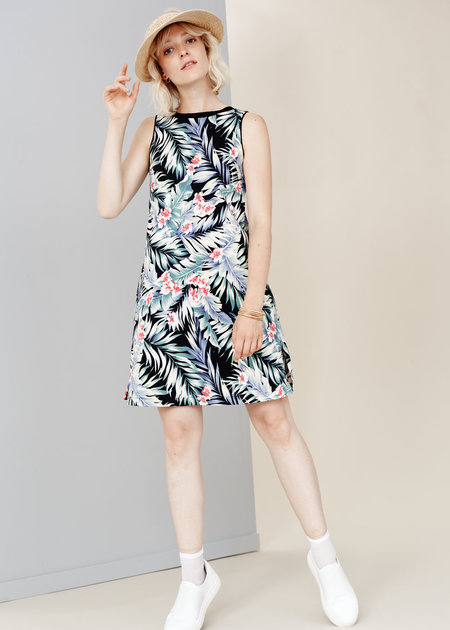 Marigold 'Lydia' tropical dress