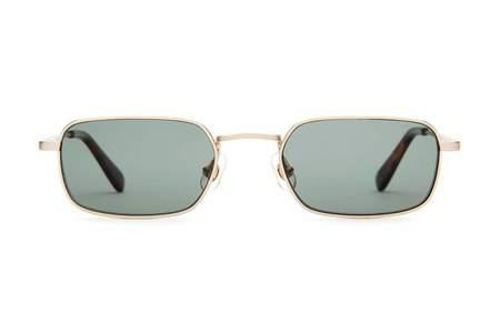 Crap Eyewear The Nu Bloom Sunglasses - Brushed Gold/Jaguar Tortoise