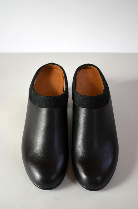 HOPP Collared Mule - Black