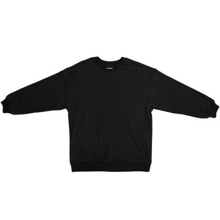 Ali Golden Oversized Sweatshirt - Black