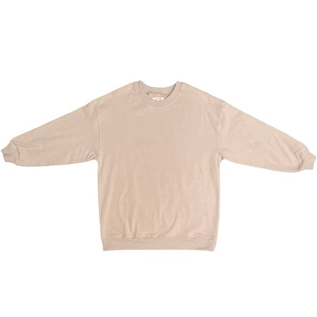 Ali Golden Oversized Sweatshirt - Wheat