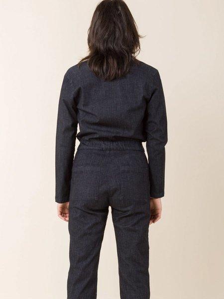 Prairie Underground Boiler Suit - Black Denim
