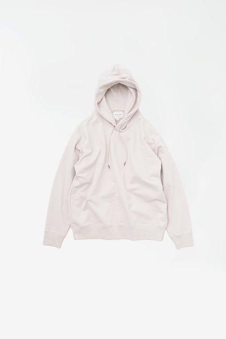 Still By Hand Heavy weight hoodie sweater - pink/beige